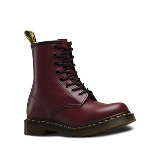 Dr. Martens Maroon Boots